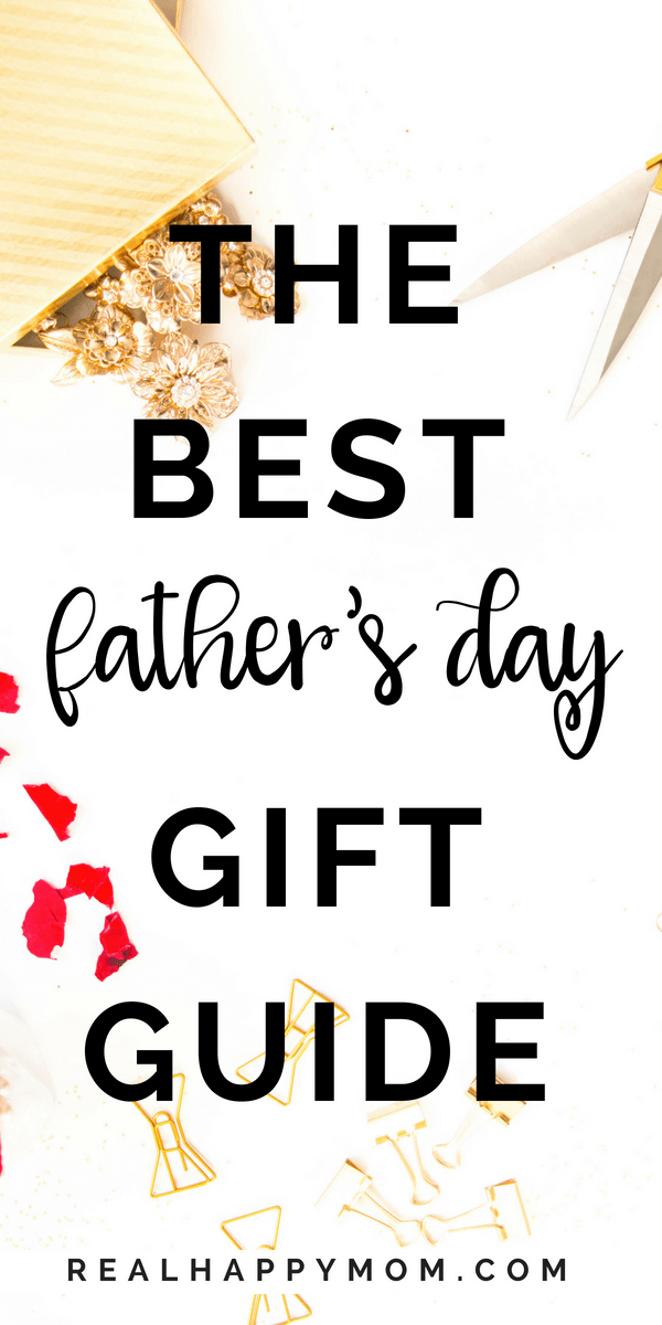 Are you looking for a father\'s day gift this year that doesn\'t suck? Look no more! This post has a list of gift ideas for dad that are sure to put a smile on your dad\'s face.