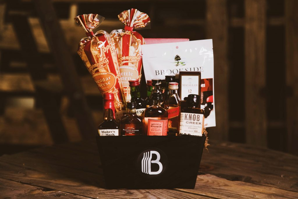 The Ultimate Whiskey Sampler from BroBasket