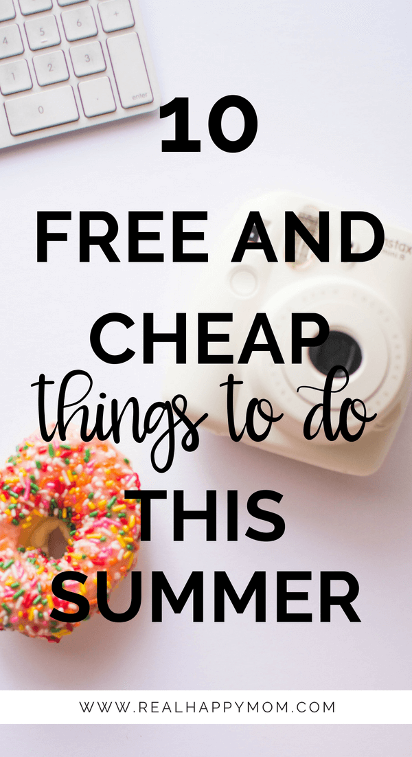 10 free and cheap things to do this summer with the kids
