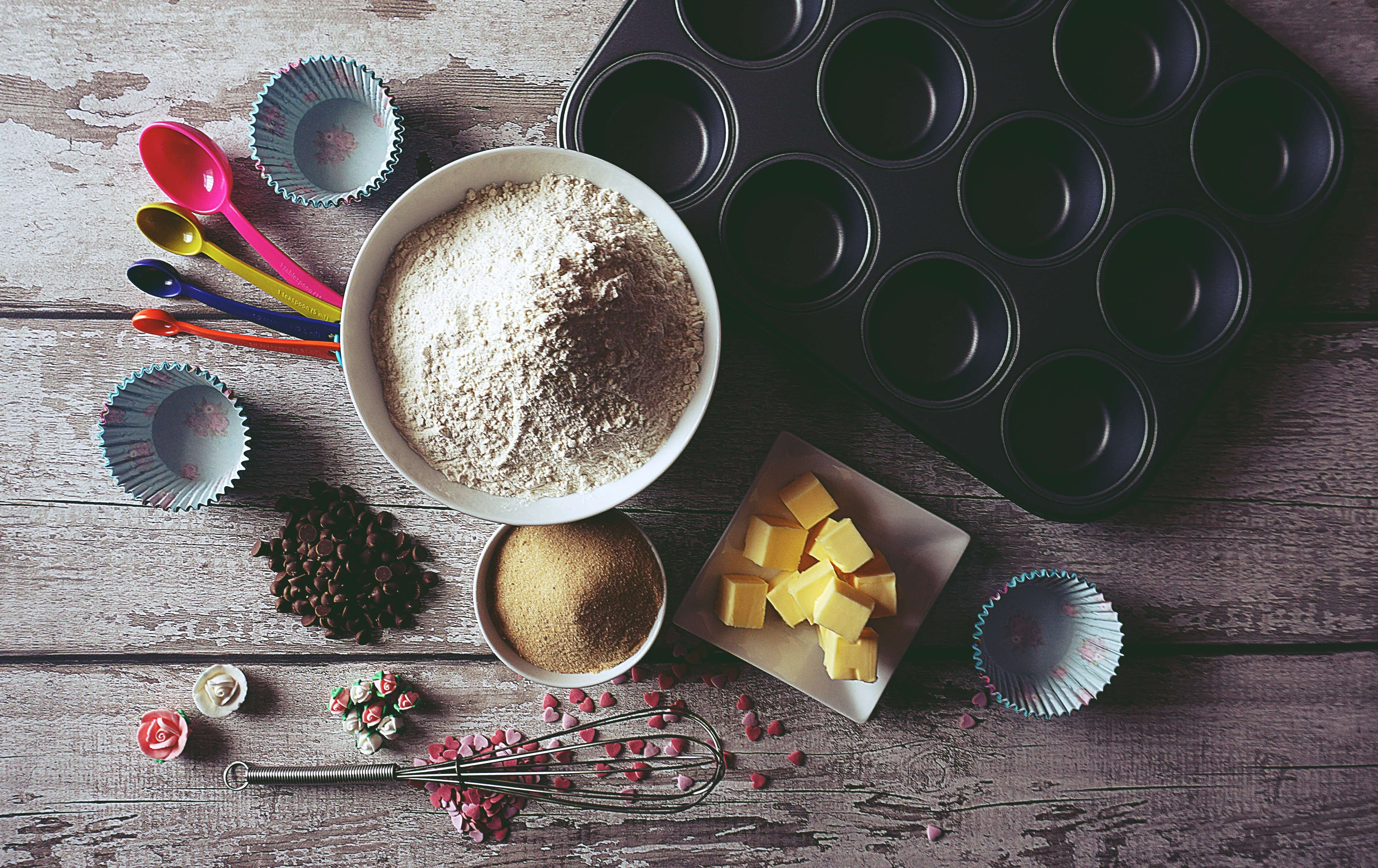 baking ingredients, activities for last days of summer