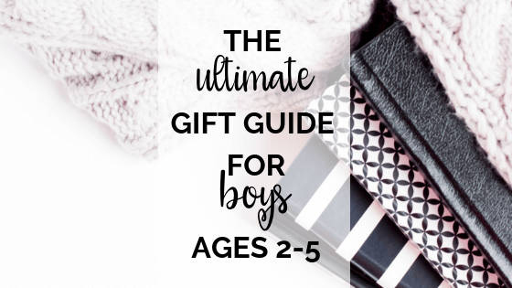 gifts for boys 2-5