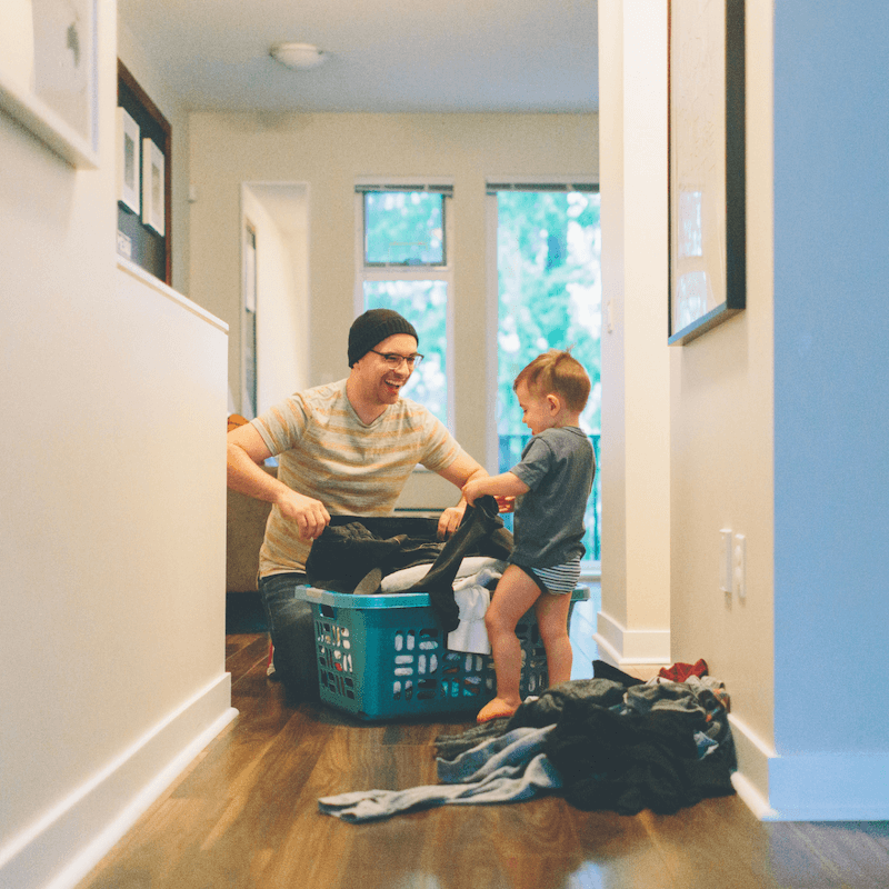 How to Get Your Toddler to Do Chores Too 1
