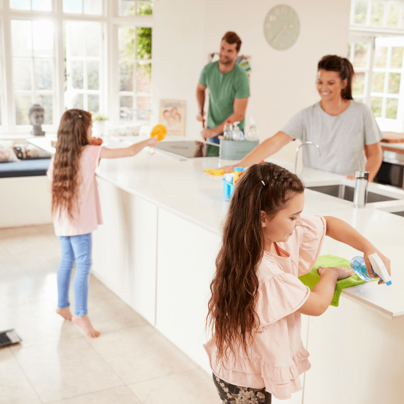 How to Get Your Toddler to Do Chores Too 3