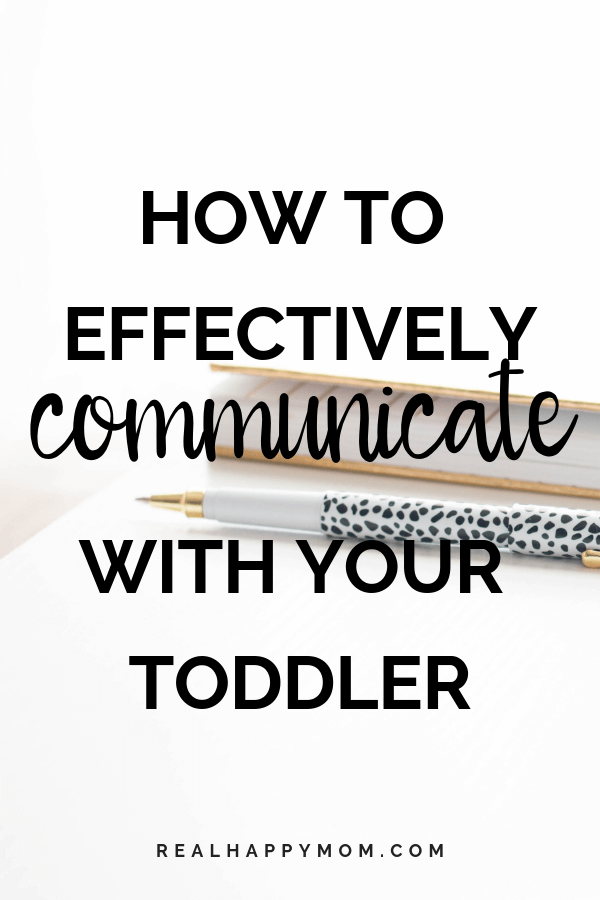 How to Effectively Communicate with Your Toddler 1