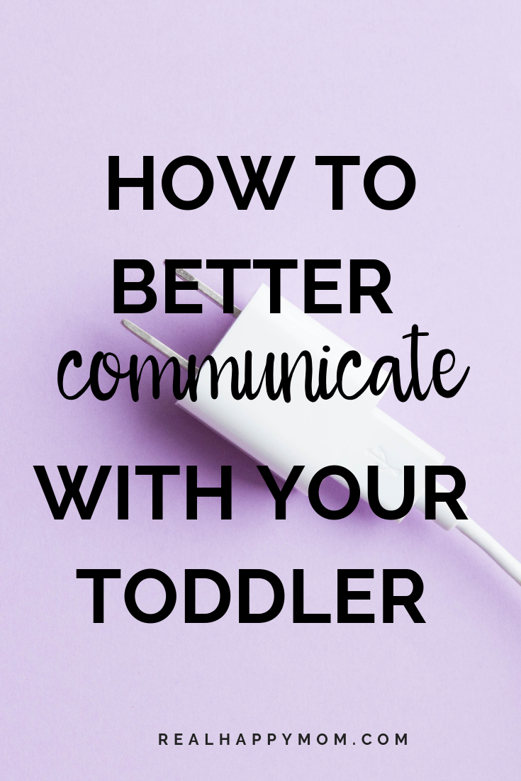 How to Better Communicate With Your Toddler 1
