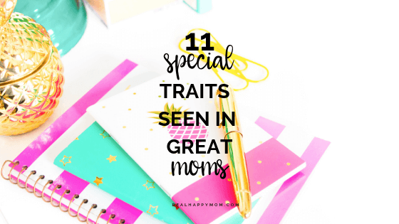 11 special traits seen in great moms
