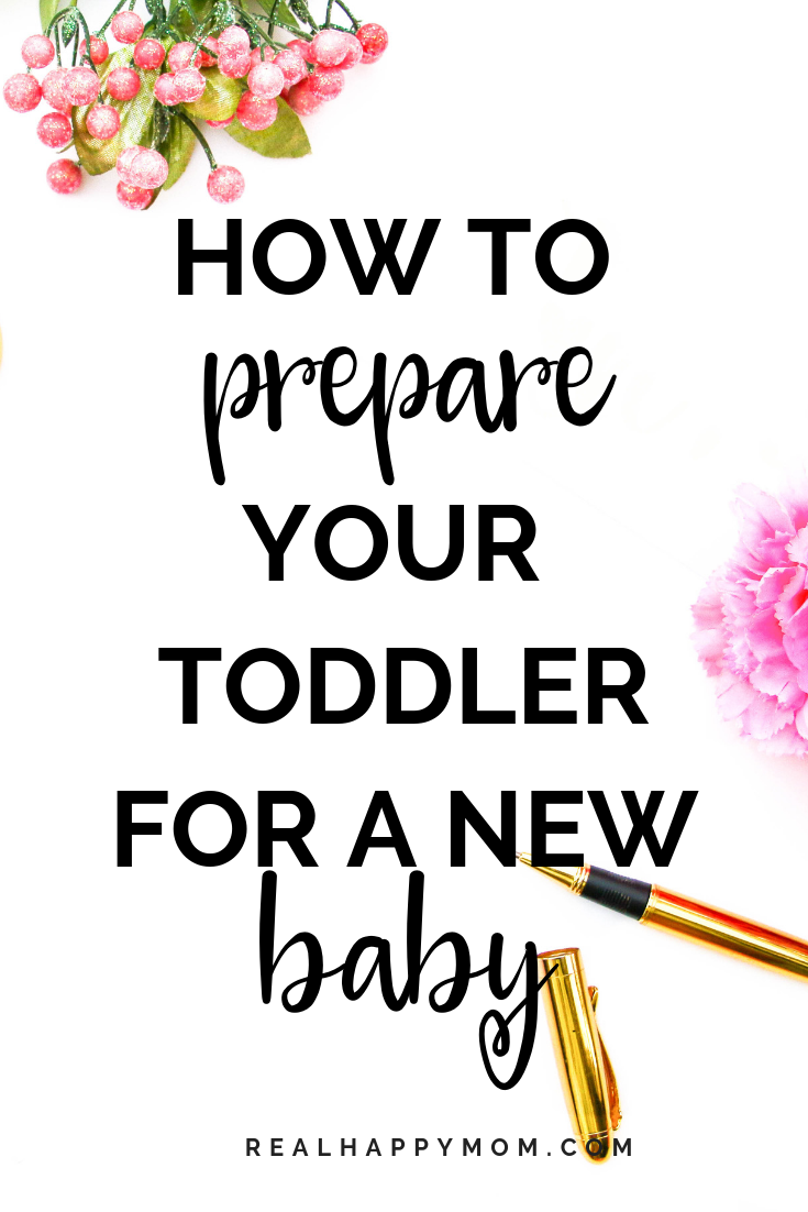 How to prepare your toddler for a new baby