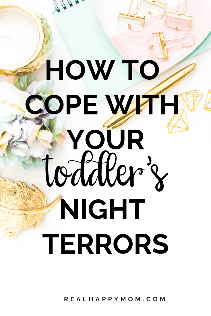 How To Cope With Your Toddler's Night Terrors 1