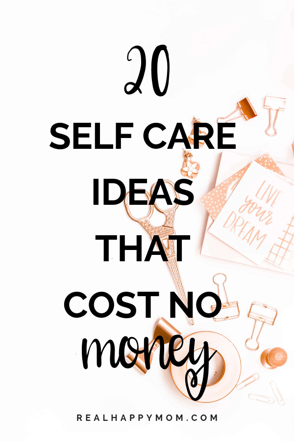 20 Self Care Ideas That Cost No Money 1