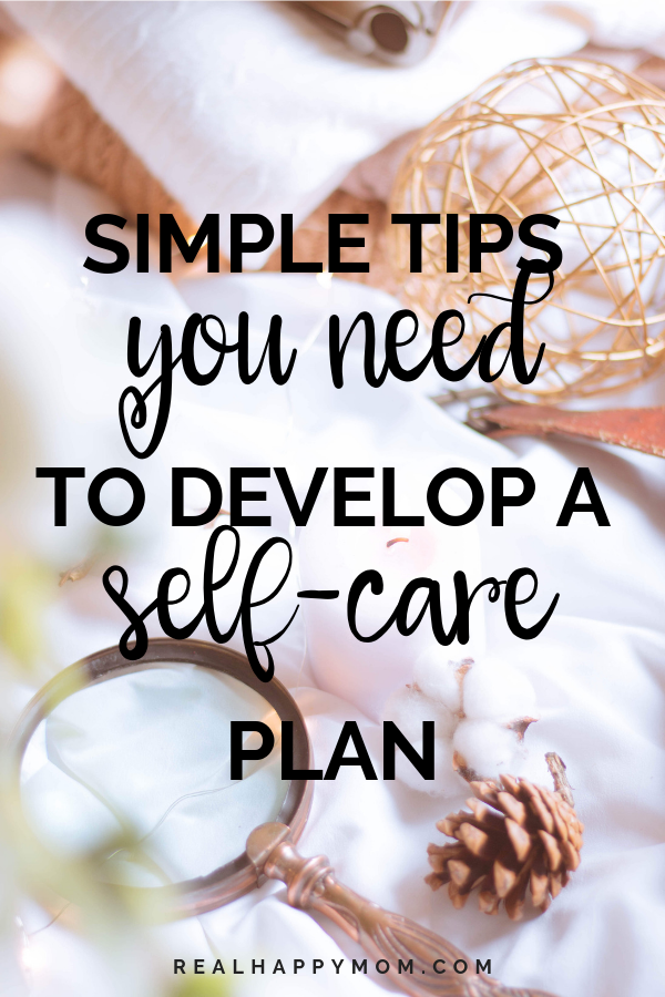 self-care plan