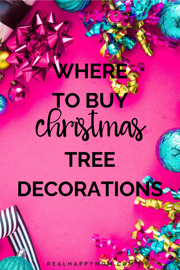 Where to Buy Christmas Tree Decorations 1