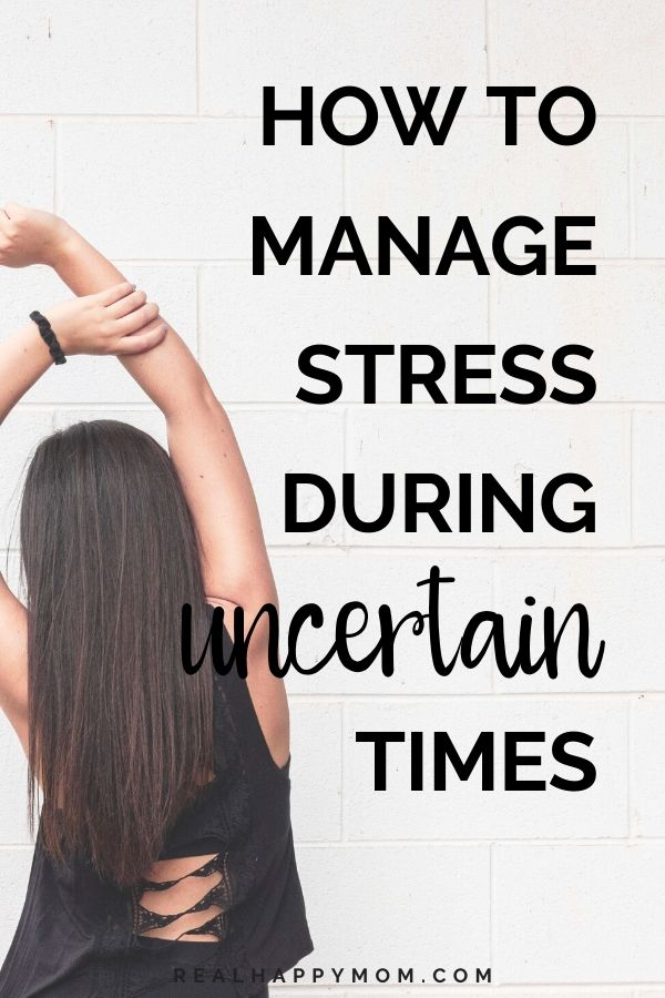 Managing Stress During Uncertain Times (COVID-19 Series) 1