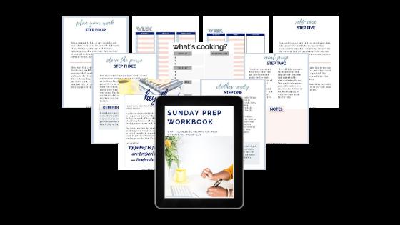 Sunday Prep Workbook 1